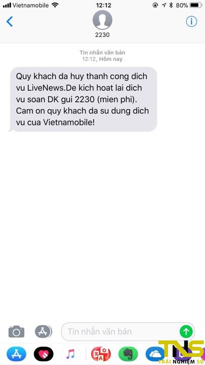 """thanh sim spam tin 7 - """"Thánh SIM"""" Vietnamobile liên tục spam tin, làm sao để chặn?"""