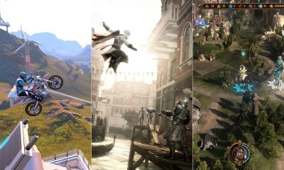 Trials Fusion - Assassin's Creed II - Might & Magic Heroes VII