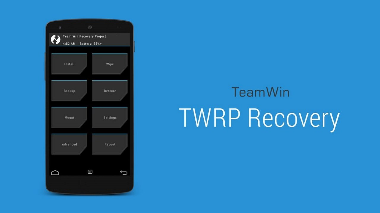 twrp recovery featured - TWRP chính thức hỗ trợ Galaxy S4 Mini, A3 & A5 (2016), Moto Z2 Force và Xperia Tablet Z