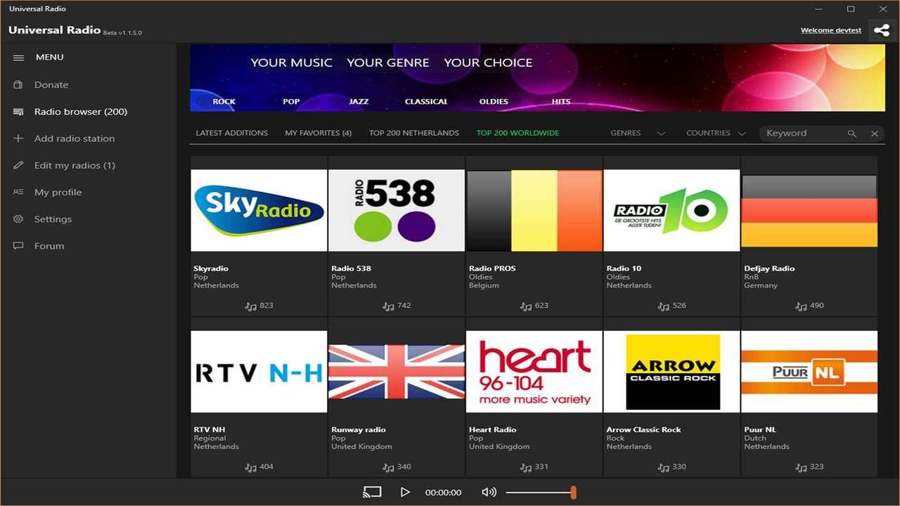 universal radio - 5 ứng dụng quản lý dữ liệu đám mây trên Android