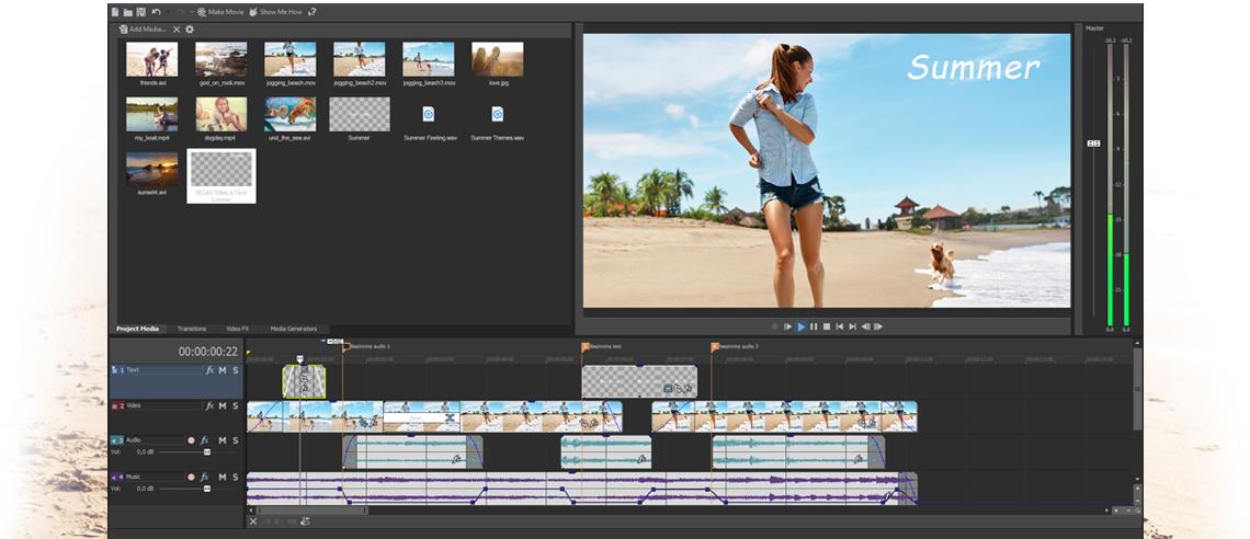 vegas movie studio - Đang miễn phí hai ứng dụng xử lý video trị giá 109,99USD