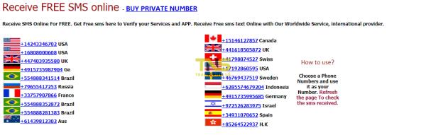 Cách nhận tin nhắn xác minh tài khoản không cần số điện thoại thật