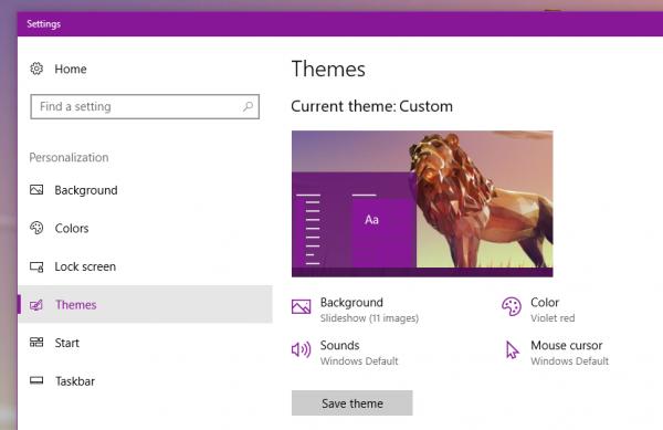 Tổng hợp 26 theme mới cho Windows 10 2