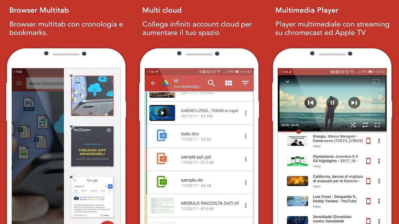 Amerigo1280x720 - Cách xài chung Dropbox, Google Drive, OneDrive cùng một nơi trên Android
