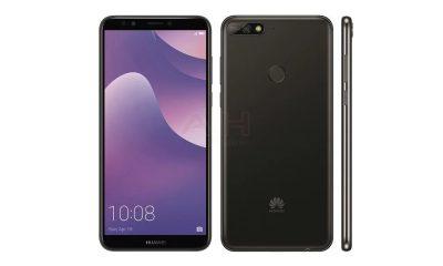 Huawei Y7 2018 400x240 - Rò rỉ ảnh render Huawei Y7 2018
