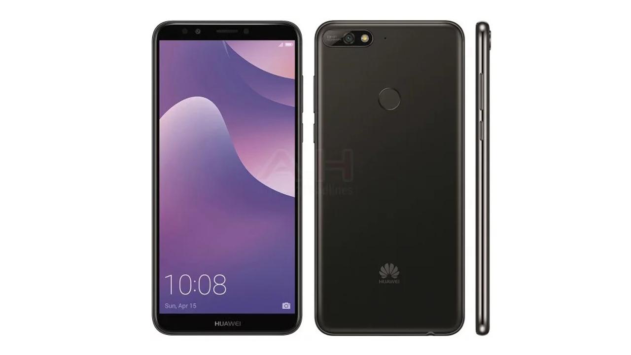 Huawei Y7 2018 - Rò rỉ ảnh render Huawei Y7 2018