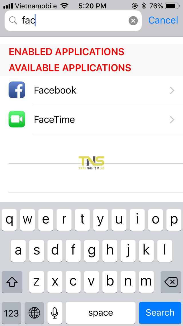 IMG 0321 - Cách hiển thị icon thông báo lên status bar độc lạ cho iOS 11