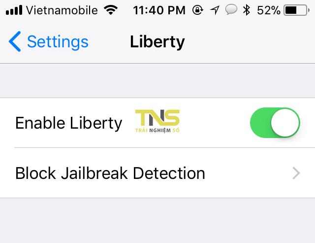 Cách giấu jailbreak trên máy iOS 11 jailbreak để app không