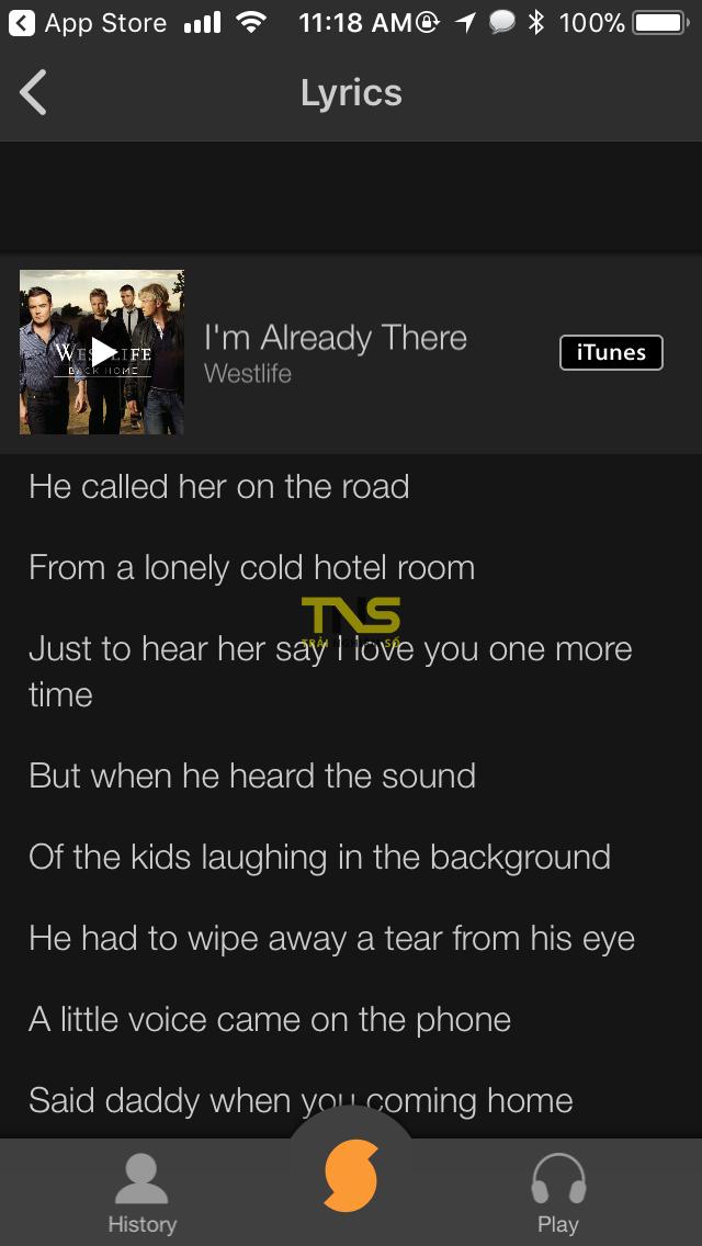 IMG 0357 - Cách bật lời bài hát trên Spotify