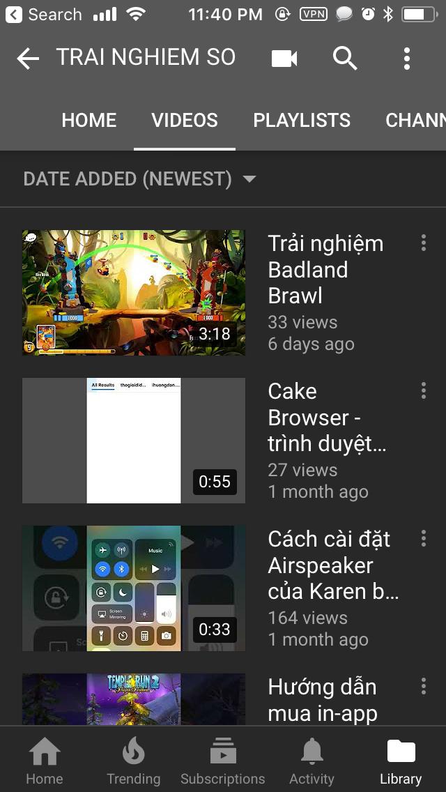 IMG 0371 - YouTube đã chính thức mở Dark Mode cho mọi thiết bị iOS