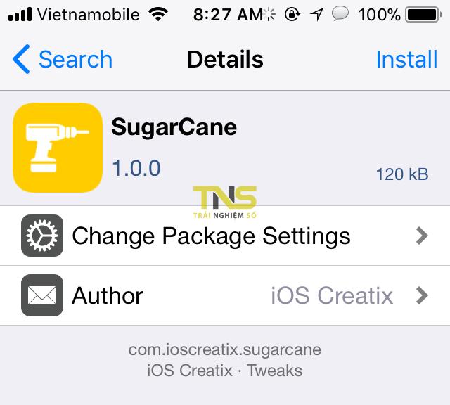 IMG 0389 - Cách thêm số phần trăm vào các thanh trên Control Center iOS 11 độc lạ