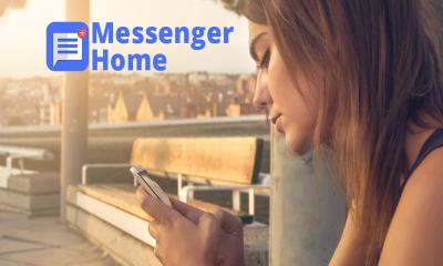 Messenger Home 400x240 - Messenger Home: Trình launcher tin nhắn độc đáo trên Android