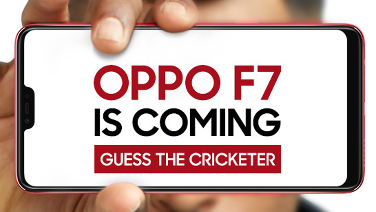 """OPPO F7 India launch teaser - Smartphone OPPO F7 """"tai thỏ"""" ra mắt tại Việt Nam vào tháng 4"""