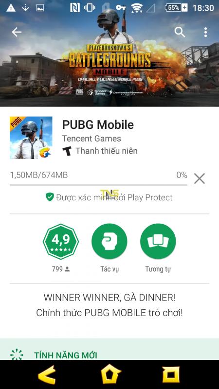 Cách tải PUBG Mobile trực tiếp trên chợ ứng dụng Play Store 4