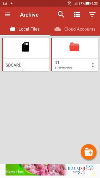 Screenshot 20180308 093359 338x600 - Cách xài chung Dropbox, Google Drive, OneDrive cùng một nơi trên Android