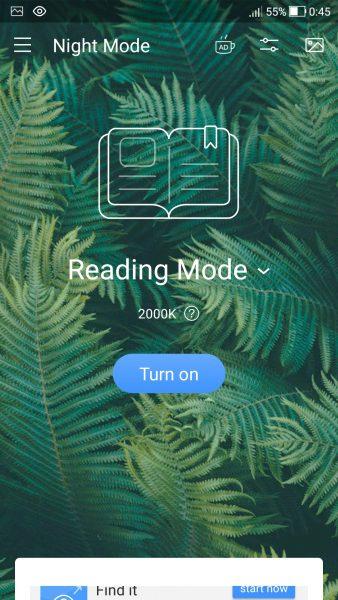 Screenshot 20180310 004556 338x600 - Blue Light Filter: Chống mỏi mắt khi dùng thiết bị trên Android