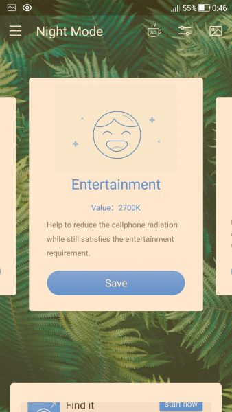 Screenshot 20180310 004614 338x600 - Blue Light Filter: Chống mỏi mắt khi dùng thiết bị trên Android
