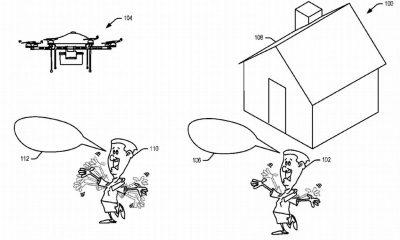amazon delivery drone patent featured 400x240 - Amazon có bằng sáng chế về drone giao hàng biết nhận diện cử chỉ và tiếng nói người nhận