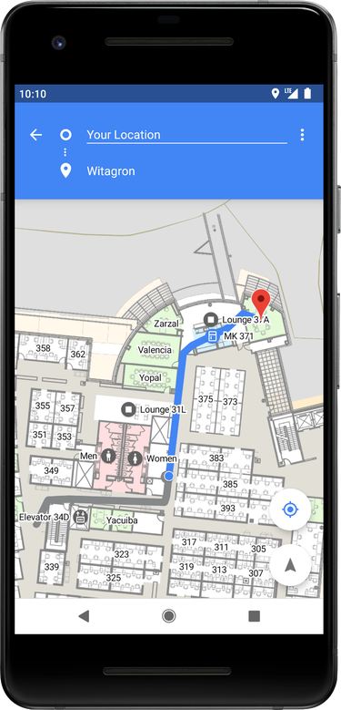 android p dp1 indoor positioning - Android P có gì mới?