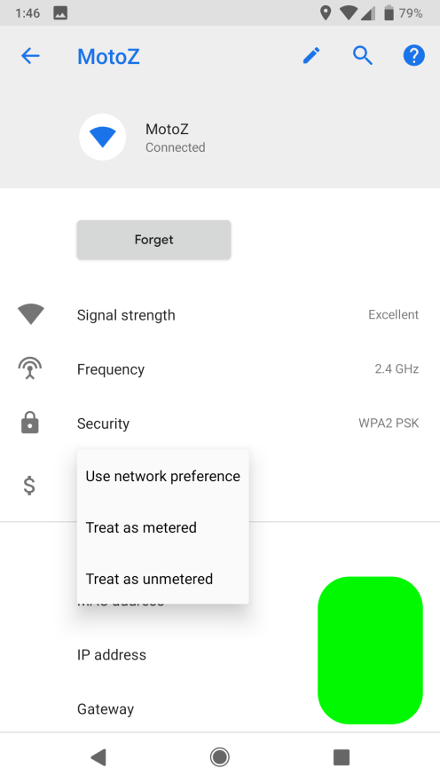 android p dp1 wifi - Android P: những điểm mới về giao diện, thiết kế