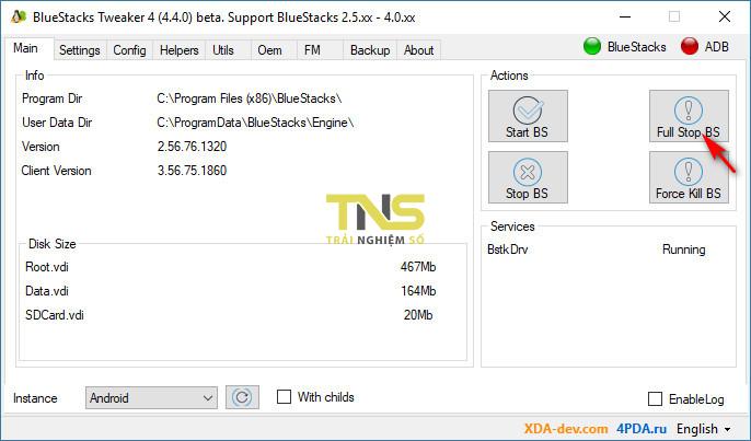 bluestacks root 1 - Cách tránh bị phát hiện dùng giả lập khi chơi PUBG Mobile trên PC