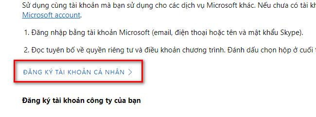 dang ky microsoft insider programs 1 - Cách đăng ký Windows Insider Program để vọc Windows mới trước mọi người