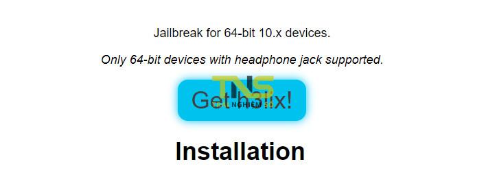 doubleh3lix 1 - Cách jailbreak máy 64-bit chạy iOS 10 - iOS 10.3.3 bằng doubleH3lix