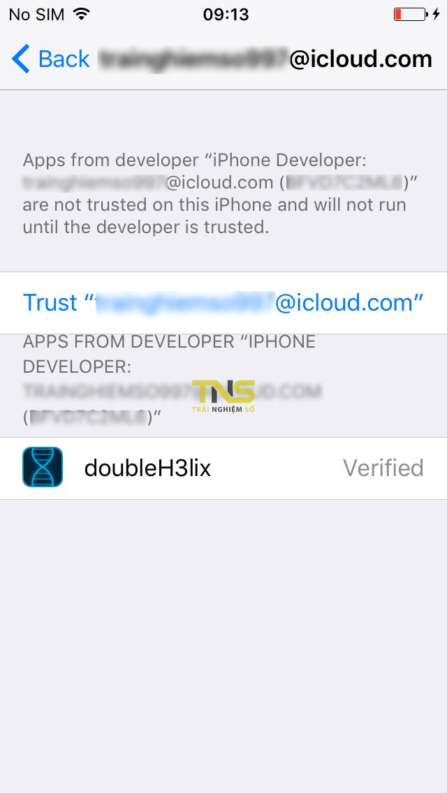 doubleh3lix 6 - Cách jailbreak máy 64-bit chạy iOS 10 - iOS 10.3.3 bằng doubleH3lix