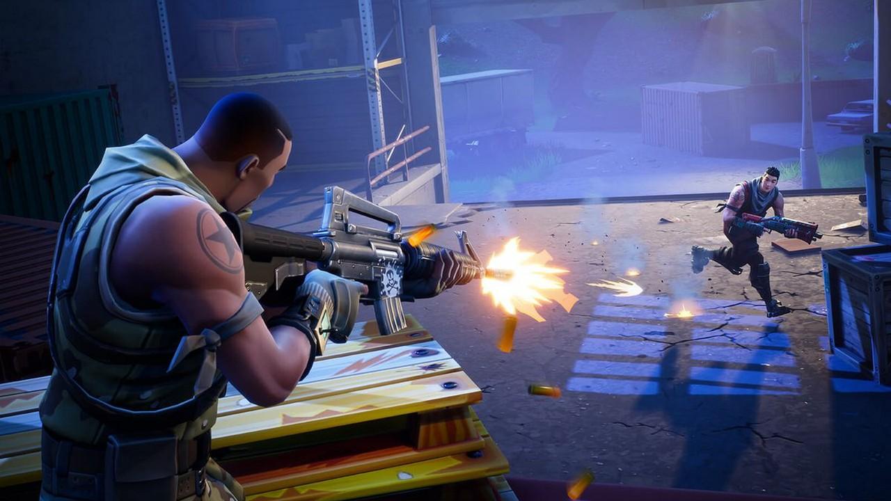 fortnite battle royale gunfire featured - Cách khắc phục tạm Fortnite Battle Royale không chơi được trên máy jailbreak