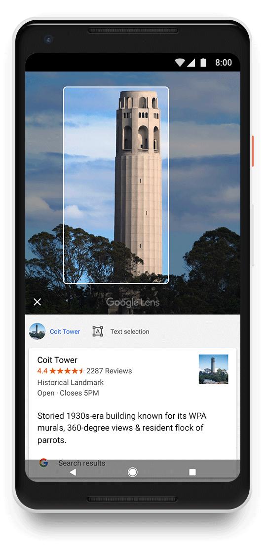 google lens 1 - Cách dùng Google Lens trên tất cả smartphone Android