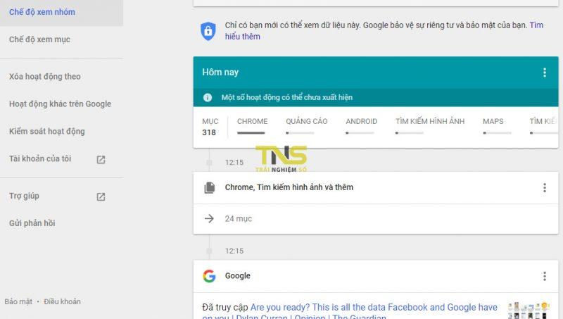 Facebook và Google biết mọi thứ về bạn!
