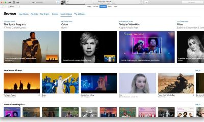 itunes featured 400x240 - Apple cập nhật iTunes 12.7.4 bổ sung mục 'Music Videos'