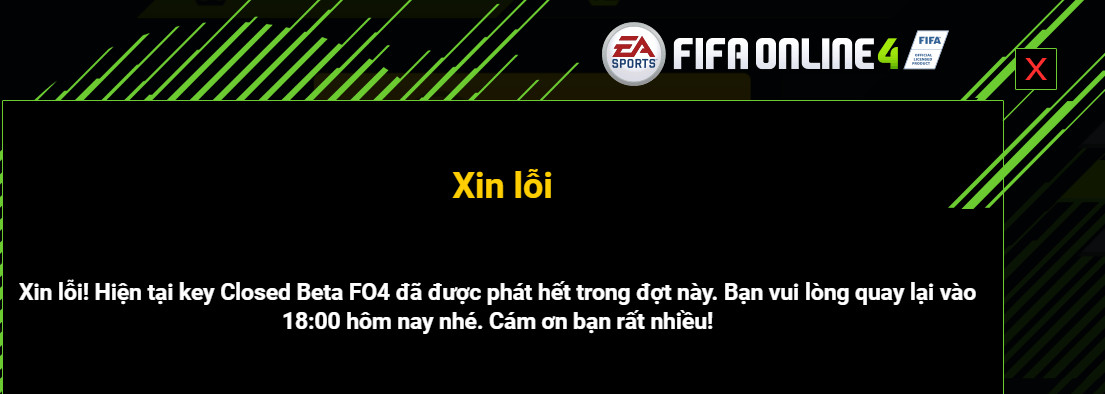 key fifa online 4 closed beta 5 - Cách nhận key FIFA Online 4 Closed Beta để trải nghiệm