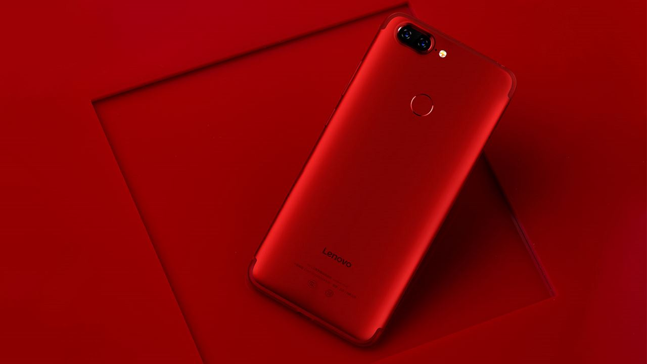 Lenovo S5 flame red