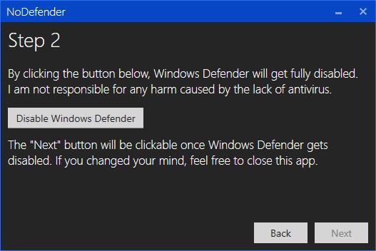 7 cách tắt Windows Defender trong Win 10 cực dễ 7