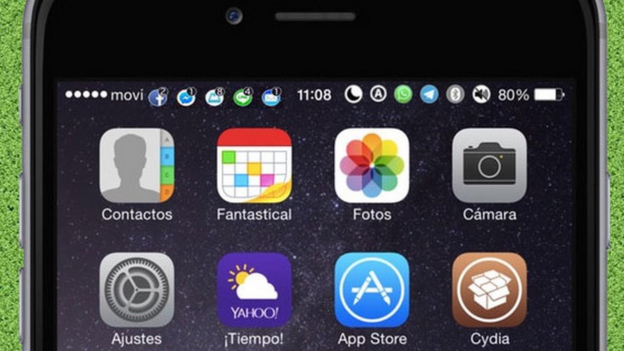 opennotifier11 1 1 - Cách hiển thị icon thông báo lên status bar độc lạ cho iOS 11