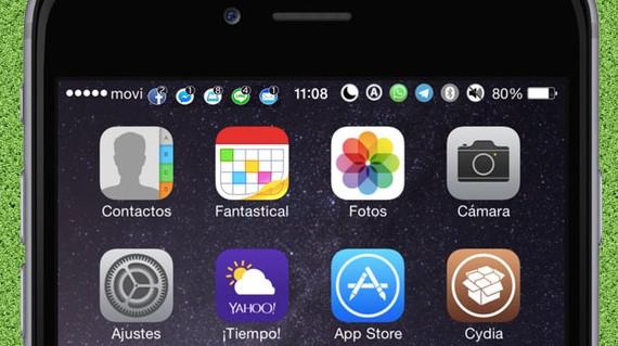 opennotifier11 1 - Cách hiển thị icon thông báo lên status bar độc lạ cho iOS 11