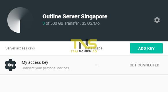outline 9 - Hướng dẫn bạn tự cài đặt một VPN riêng miễn phí với Outline