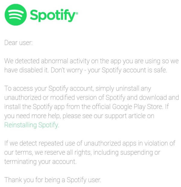 spotify pirates 1 - Spotify bắt đầu khóa Spotify++, người dùng không nên xài các bản hack