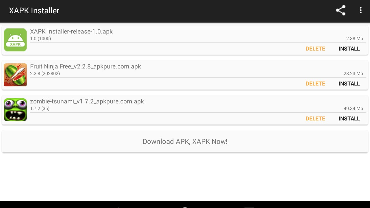 how to open xapk files on android