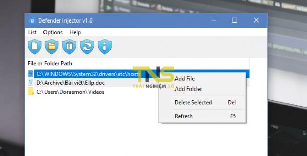 """2018 04 24 14 37 30 600x305 - Cách giữ tập tin không bị Windows Defender """"ngắm"""", xóa nhầm"""