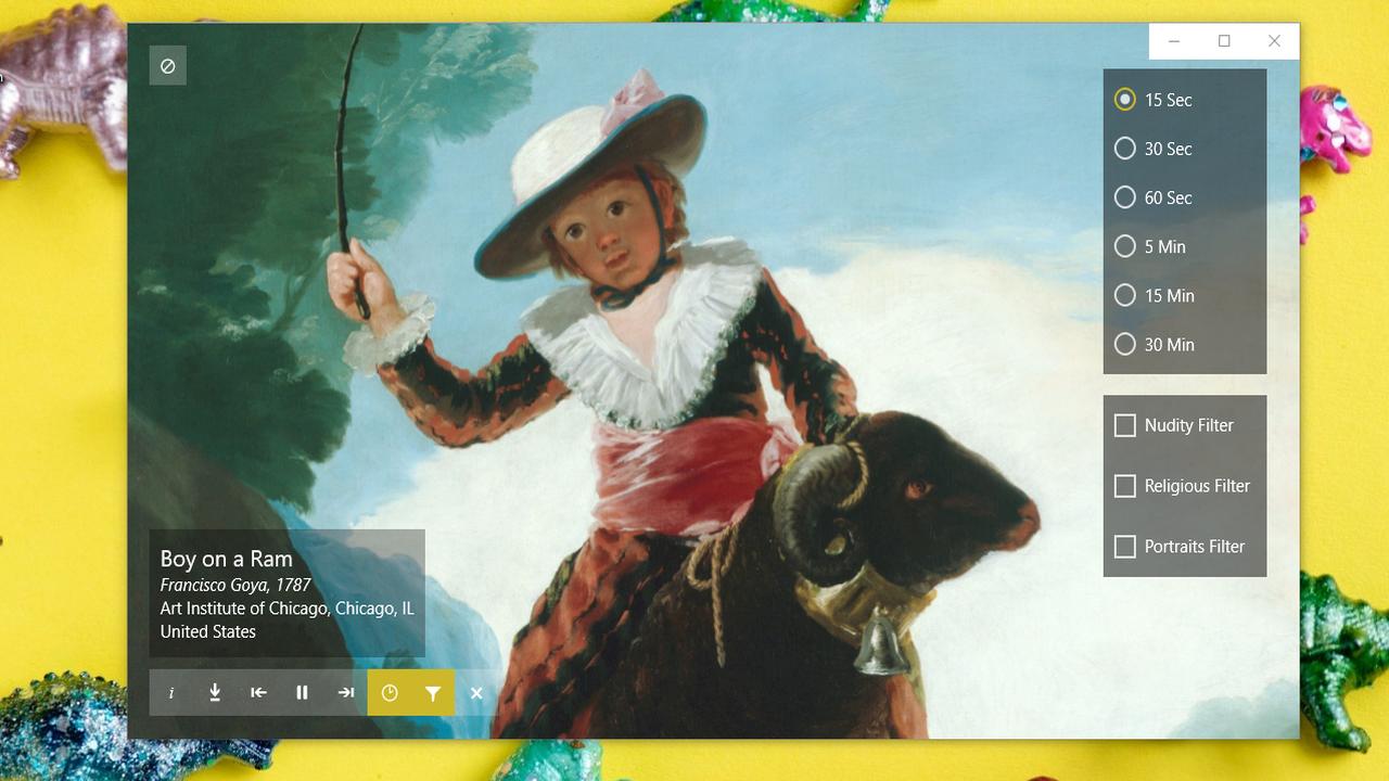 CAS Preview - CAS Preview: Ngắm nhìn tranh nghệ thuật từ trên desktop, màn hình khóa Windows 10