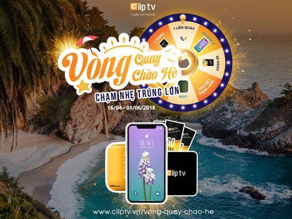 Clip 600x450 - Xài Clip TV có cơ hội nhận miễn phí iPhone X