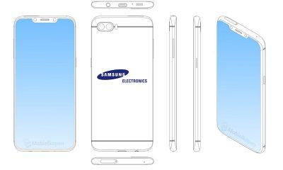 Samsung tai tho 400x240 - Samsung có bằng sáng chế smartphone tai thỏ