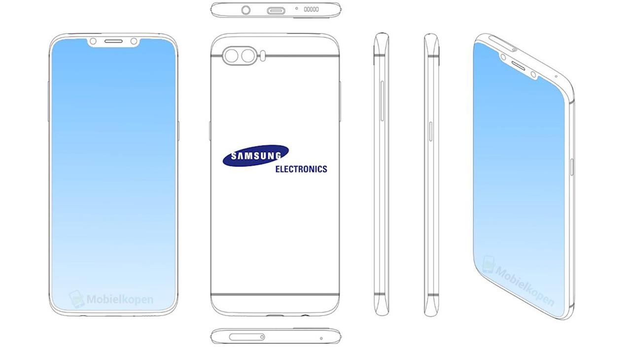 Samsung tai tho - Samsung có bằng sáng chế smartphone tai thỏ