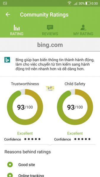 Screenshot 20180412 003014 338x600 - Kiểm tra độ an toàn và chặn website trên Android