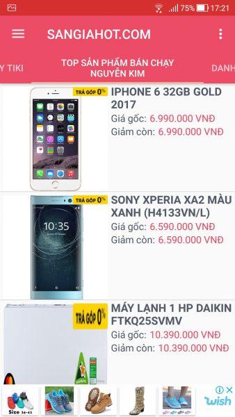 Săn voucher, mã giảm giá các trang thương mại điện tử trên Android 3