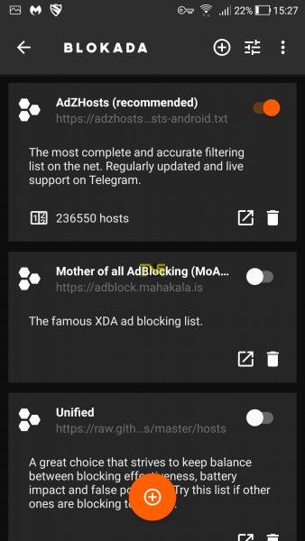 Screenshot 20180419 152746 338x600 - Blokada: Chặn quảng cáo trên Android không cần Root