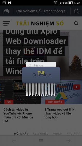 Screenshot 20180423 133600 338x600 - 5 trình duyệt gọn nhẹ, bảo mật cho Android