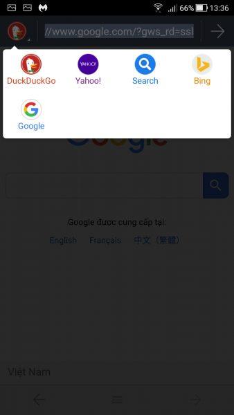 Screenshot 20180423 133629 338x600 - 5 trình duyệt gọn nhẹ, bảo mật cho Android